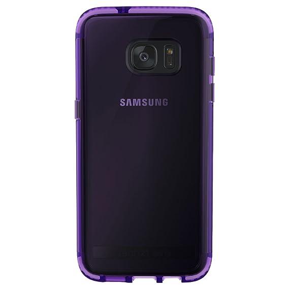 pretty nice a4265 88c54 Tech21 Evo Frame Case for Samsung Galaxy S7 Edge - HopeLine Purple