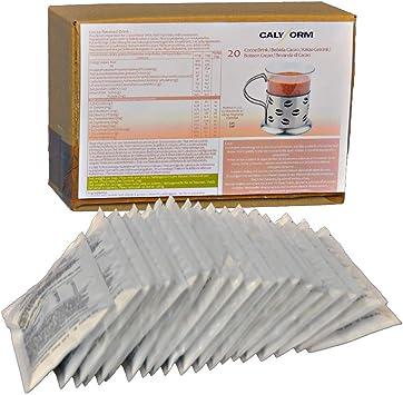 CALYFORM Batidos Proteínas para dieta sabor Cacao | Bebida proteica en polvo saciante | Proteína dietética de calidad y aporte en aminoácidos ...