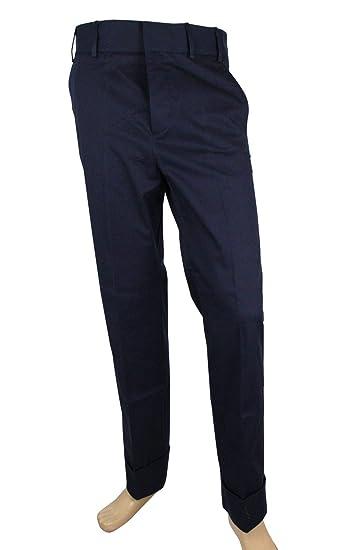 5d907e5a527 Gucci Men's Gabardine Blue Cotton Elastane Stretch Pant 398814 4265 (G 48 /  US 32