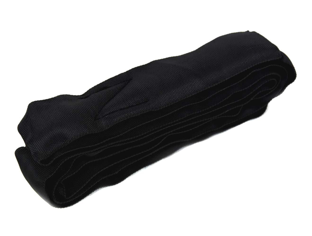 1t-1m Schwarz 1 m, 1m Verwendung - 2m Schlingenl/änge Rundschlinge aus polyester HT 1000 kg 030033002501