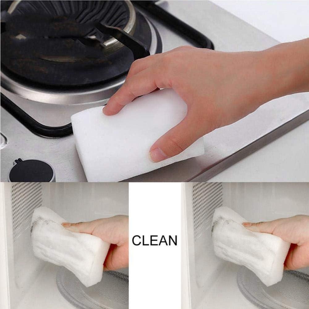 SSXCO 10 Piezas de Esponja Borrador Limpiador multifunción Cocina Plato Limpieza Esponja Sucia Herramienta de Limpieza para Oficina Pared Coche, 10 Piezas: Amazon.es: Hogar