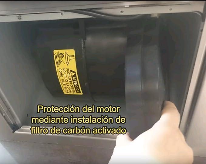 ELECTROHOGAR® 2 Filtros Carbón Activo 210 mm Campana Extractora Cata, Nodor, Electrolux, Whirpool: Amazon.es: Grandes electrodomésticos