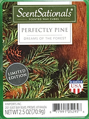 ScentSationals Perfectly Pine Wax Cubes