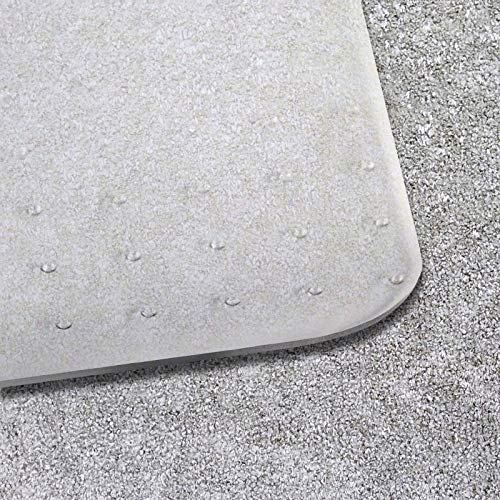 Office Chair Mat for Carpeted Floors | Desk Chair Mat for Carpet | Clear PVC Mat in Different Thicknesses and Sizes for Every Pile Type | Medium-Pile 36''x48'' by OfficeMarshal (Image #1)