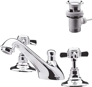 Ultra I307X Beaumont 3th Basin Mixer and Puwaste Huge Saving Chrome