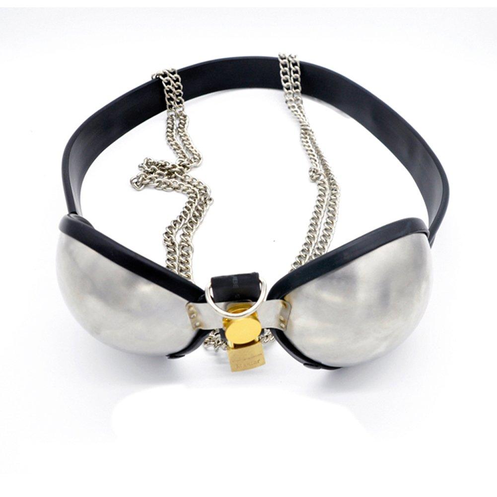 Risunpet Stainless Bra Female Male Belt Device Bondage 56