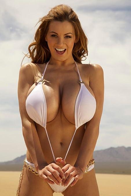 "Amazon.com: Jordan Carver Sexy model Fabric poster 36"" x 24 ..."