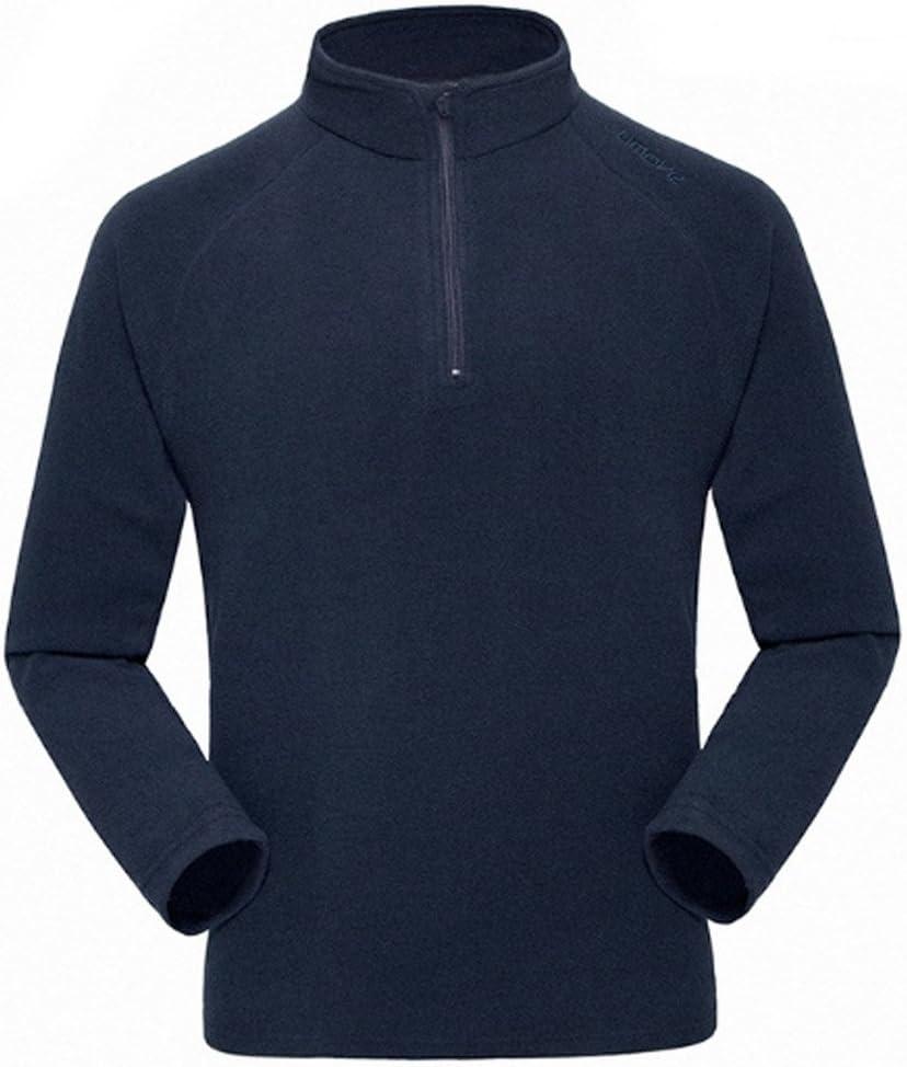 Demarkt Chaqueta de Running para Hombre Color Azul Oscuro
