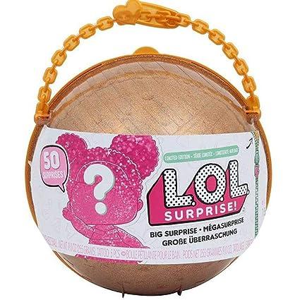 Amazon Com Lol Big Surprise Limited Edition Lol Glitter 1 Ball