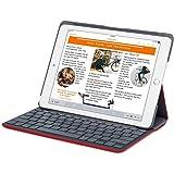 Logitech Canvas Keyboard Folio Case for iPad Air 2 -Red (920-007273)