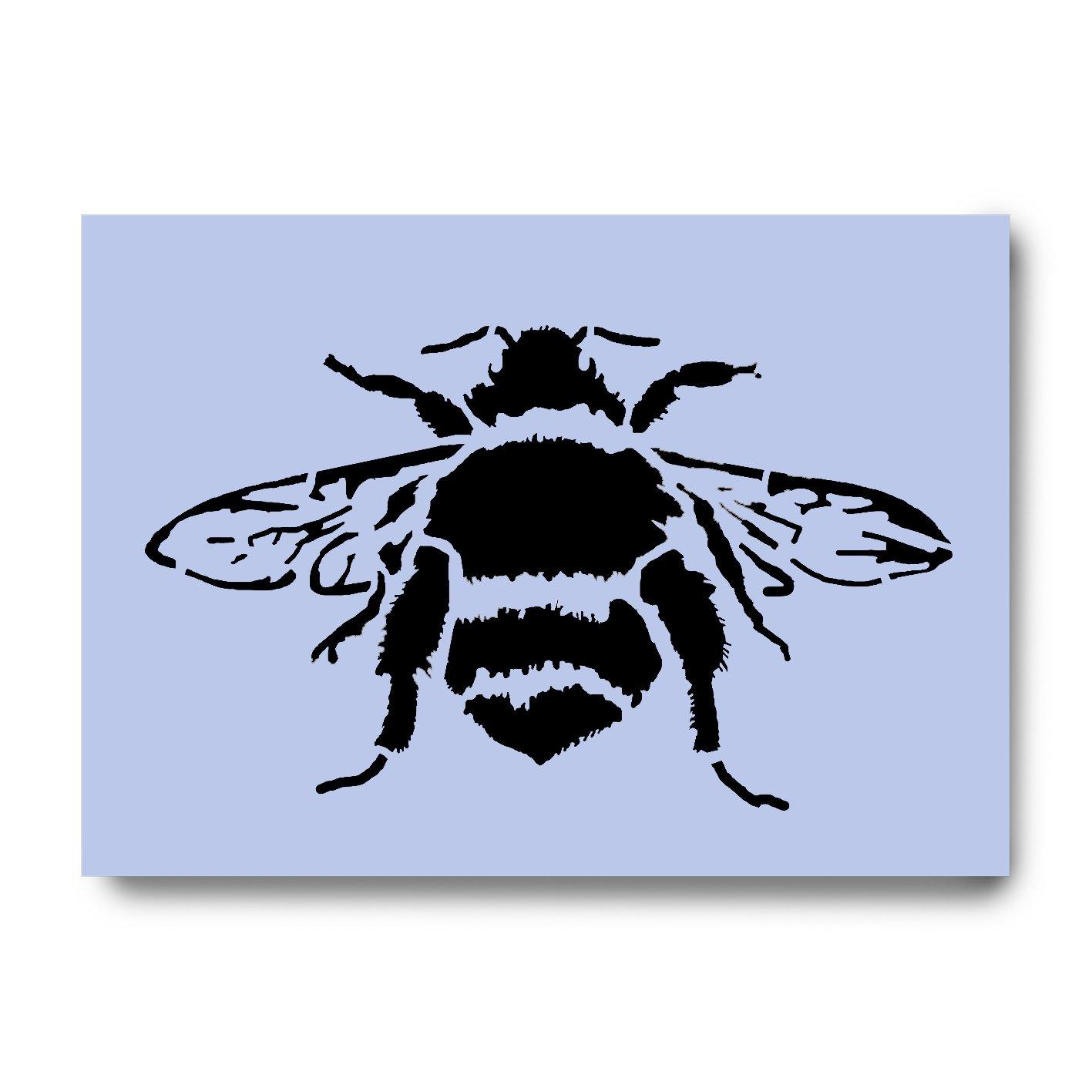 LITTLE BEE STENCIL A5 SIZE ON TOUGH FLEXIBLE STENCIL Dovetails