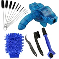 AHCSMRE Bike Chain Cleaning Brush Kit Bicycle Maintenance Washing Tool Suitable for Mountain, Road, City, Hybrid,BMX…