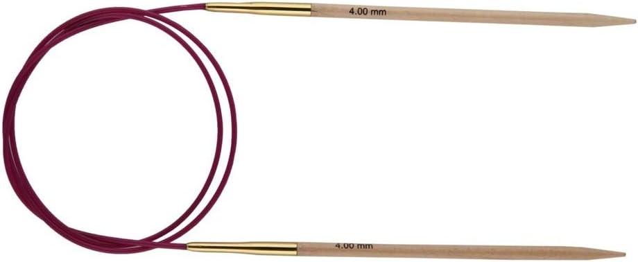 in fibra di carbonio spessore 2,25 mm lunghezza: 100 cm Ferri da maglia circolari KnitPro Karbonz