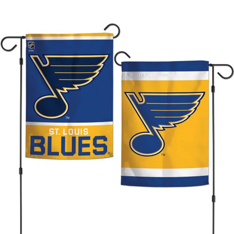"WinCraft NHL St Louis Blues 12.5"" x 18"" Inch 2-Sided Garden Flag"