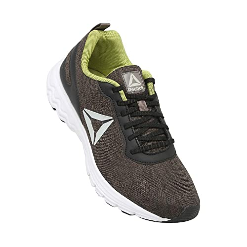 01a8c56821e Reebok Men s Black Smoky Taupe Green Running Shoes-14 UK India (50 ...