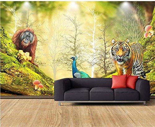Yosot Benutzerdefinierte Größe 3D Fototapete Kinderzimmer Wandbild ...