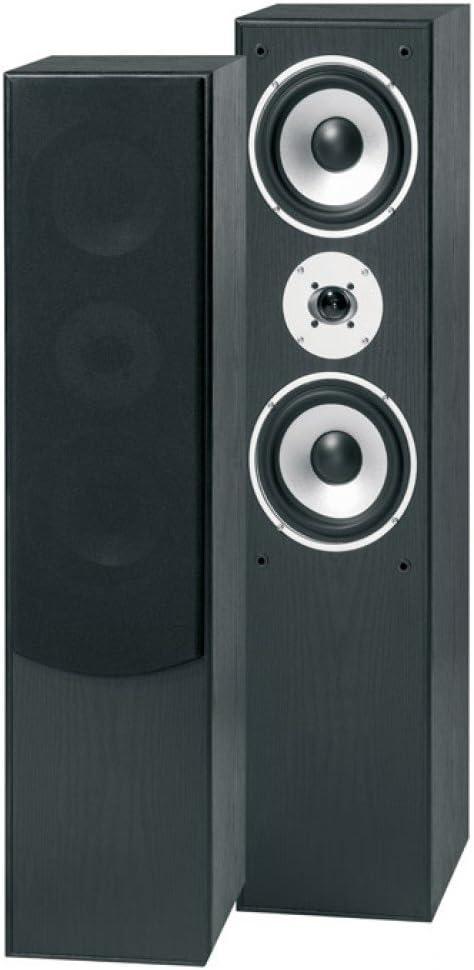 Skytronic SHFT60B - Altavoces (Negro, Piso, Speaker set unit, Alámbrico, Terminal, 28-22000 Hz)