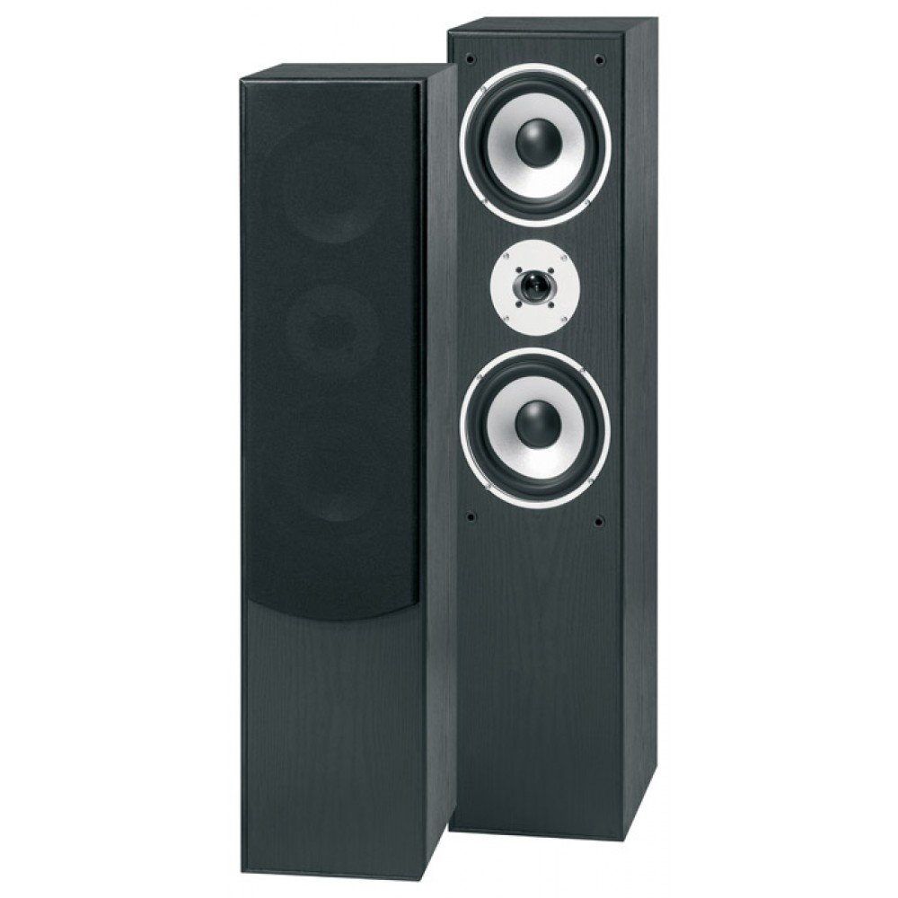 Skytronic SHFT60B - Altavoces (Negro, Piso, Speaker set unit, Alámbrico, Terminal, 28-22000 Hz)