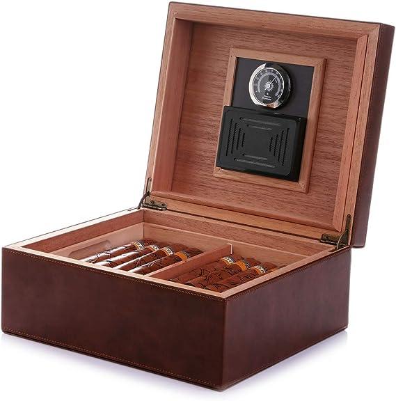 MEGACRA Desktop Cigar Humidor