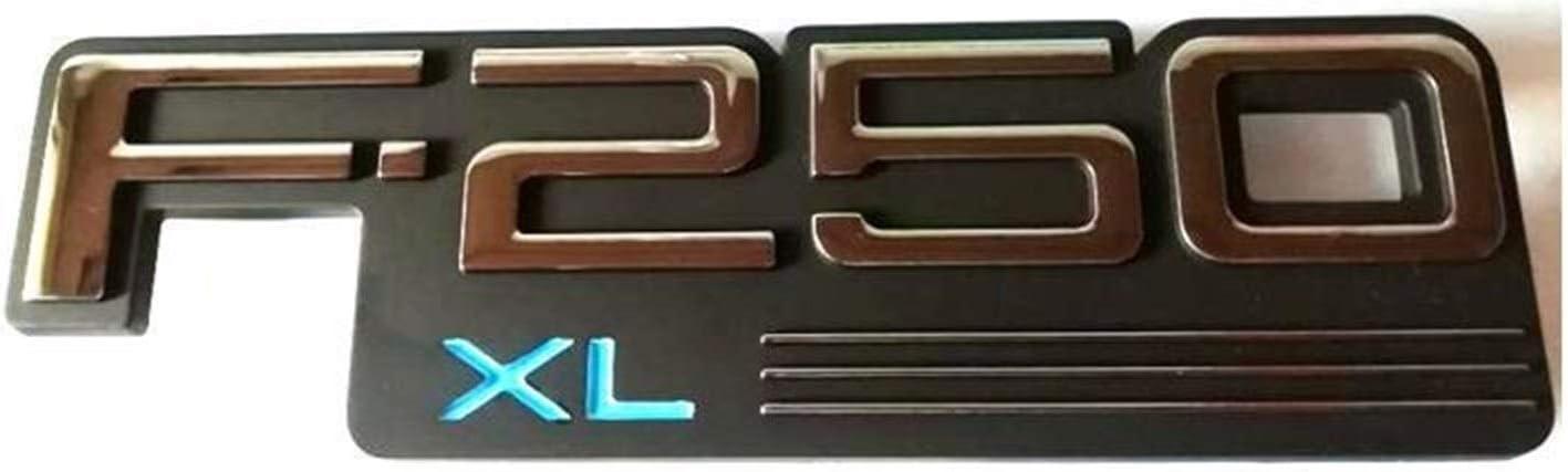 Etiqueta de plástico ABS F250 F250 XL F250xl F250xl coche insignia del emblema Emblema Embleme