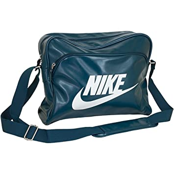 Nike Heritage SI Track Bag Bolsa de Deporte, Hombre, Turquesa Midnight Turq/White, Talla Única