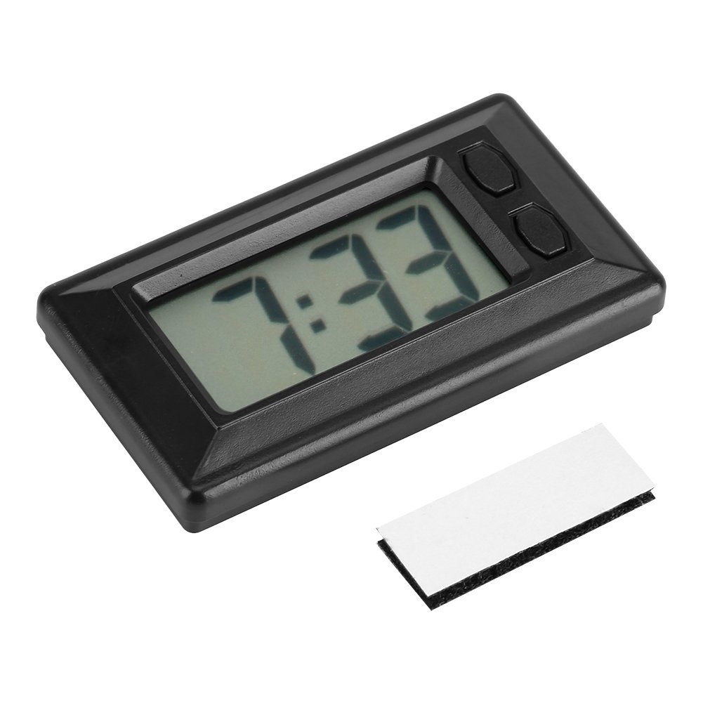 Amazon.com: Fdit LCD Digital Table Car Dashboard Desk Electronic Clock Date Time Calendar Display: Home & Kitchen