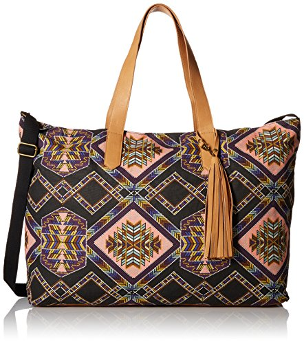 twig-arrow-large-printed-overnighter-weekender-bag-multi-one-size