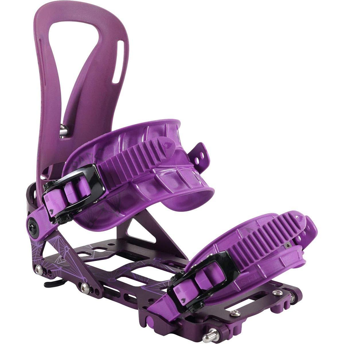 Womens Plum Spark R/&D Arc Splitboard Binding XS//S