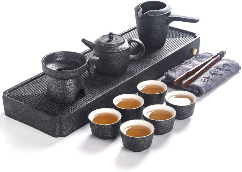 お茶セット、トラベルティーセットポータブルカンフーティーセットコンプリートティーセット