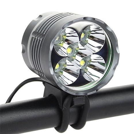 jarown 8000 lumens LED para bicicleta Ciclismo faro delantero ...