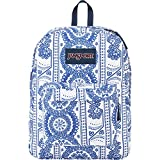 JanSport SuperBreak Backpack (White Swedish Lace)