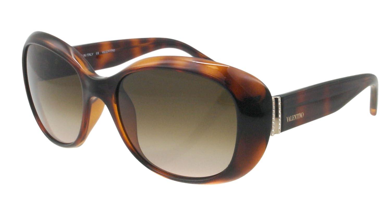 Valentino Gafas de Sol V620SR57 (57 mm) Havana: Amazon.es ...