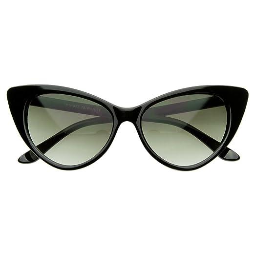 096c070d2d8 Amazon.com  MLC EYEWEAR Designer Inspired Super Cat Eye Sunglasses ...