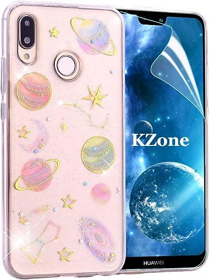 OKZone Funda Huawei P20 Lite, [Serie Cielo Estrellado] Cárcasa ...