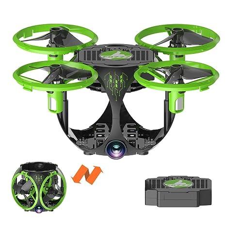 DUCKTOYS RC Drone Quadcopter cámara WiFi, 3.5 CH 6-Axis Gyro RTF App Control
