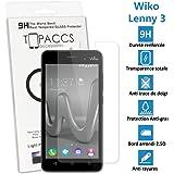 Topaccs–Cristal templado de protección ultrarresistentepara pantalla de Wiko Lenny 3