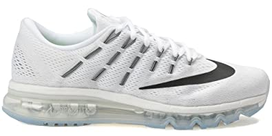 NIKE Air Max 2016, Chaussures de Running Entrainement Homme, Multicolore-Blanco/Negro