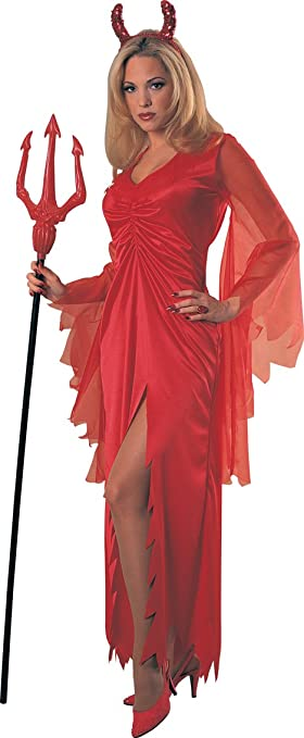 Diabla - Devil - Halloween Fancy Dress Costume (disfraz): Amazon ...
