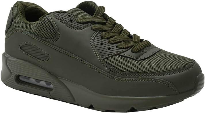CucuFashion - Zapatillas de Deporte para Mujer, Color Negro, Color ...