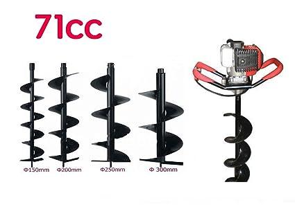 Amazon.com: chikura 71 cc 3,2 kW Terreno Drill Tierra ...