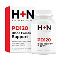PressureDown120 High Blood Pressure Supplement to Lower BP Naturally-Premium Cardiovascular...