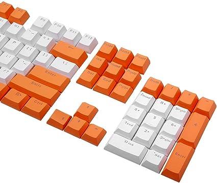 PBT Double Shot Keycap Set 104 Tapa de tecla retroiluminada ...