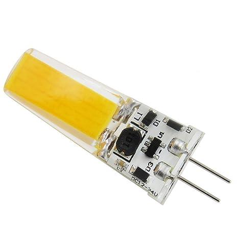 aiyowei G4 2508 COB bombilla LED 12 V-24 V DC o 12 V AC
