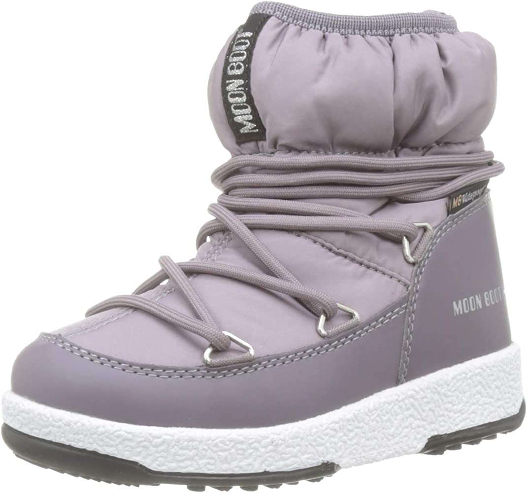 Moon-boot Jr Girl Low Nylon WP, Botas de Nieve para Niños ...