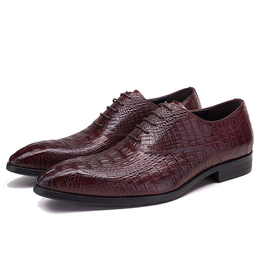 6ffbf4a8b7bc18 GAOLIXIA Männer echtes Leder Formale Business Schuhe wies Arbeitsschuhe  Mode Party lässig Friseur Schuhe Party Mode Abend große Größe a5e684