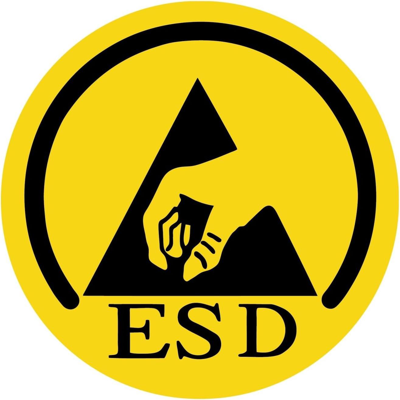 42 EU Schwarz ESD-Sicherheitsschuh SL 805 XP blue in Weite 10 nach EN ISO 20345 S3 SRC von ATLAS