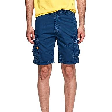 NINGNETI Moda Pantalones De Combate para Hombre Muchos ...