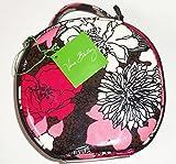 Vera Bradley Hatbox Cosmetic Case Hat Box Green Pink Black Blue Red Rare New (Mocha Rouge)