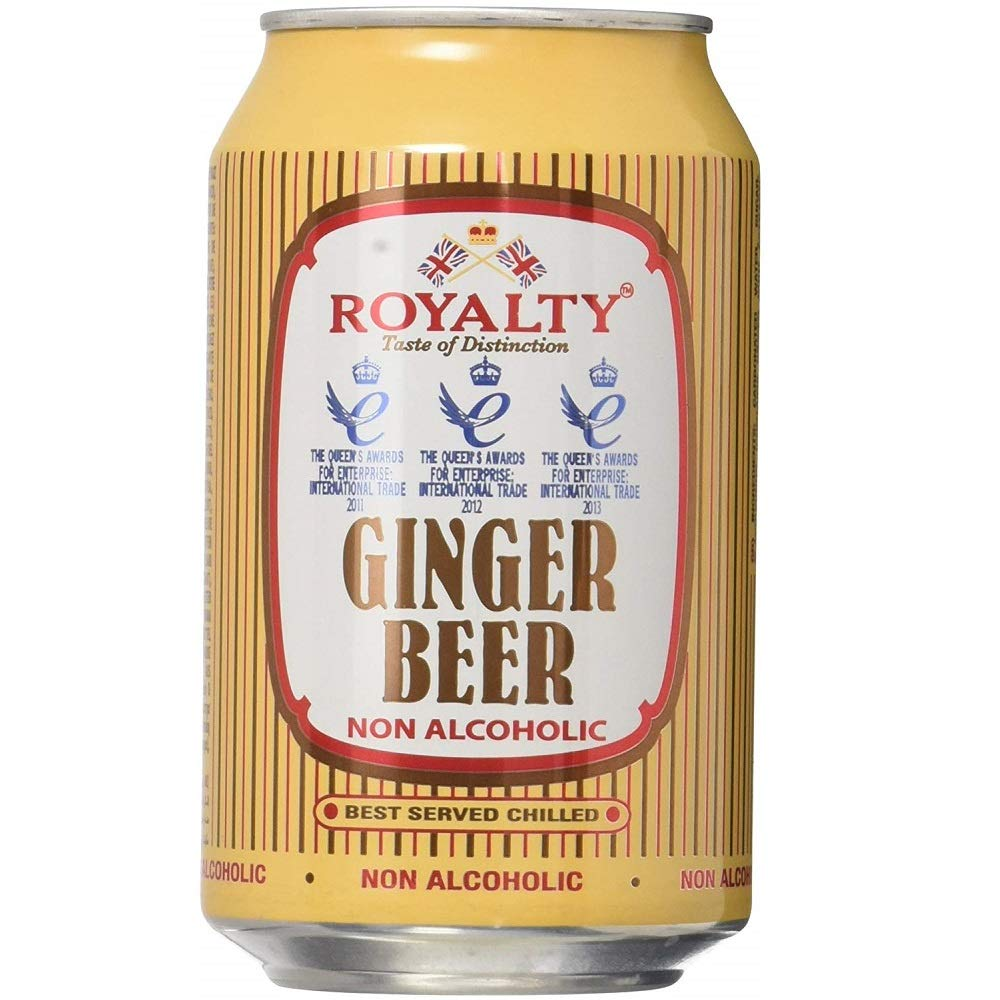 Amazon Com Royalty Ginger Beer 330ml Pack Of 12 Grocery Gourmet Food