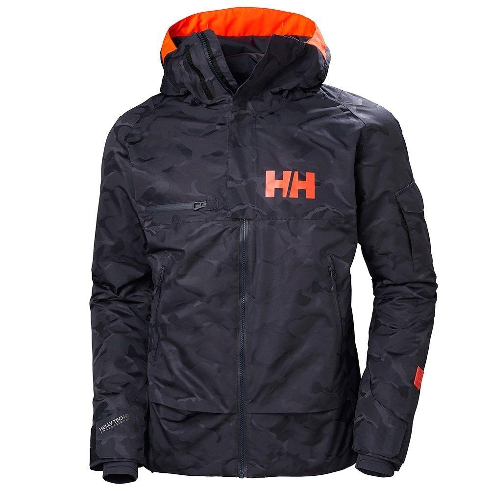 Helly Hansen Garibaldi Jacket Graphite Blue Camo XL: Amazon ...